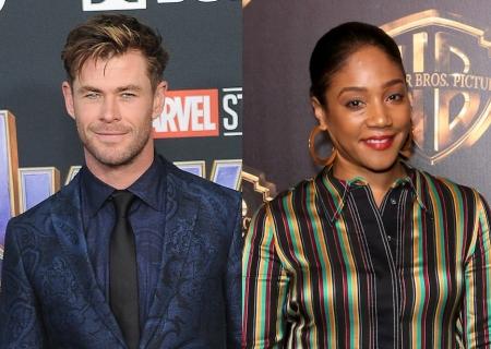 ICYMI: Chris Hemsworth & Tiffany Haddish are Making Movie Magic Together!