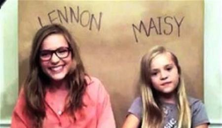 VIRAL ALERT: Lennon & Maisy