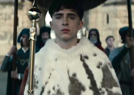 ICYMI: Netflix Crowns Actor Timothée Chalamet as 'The King' in New Trailer!