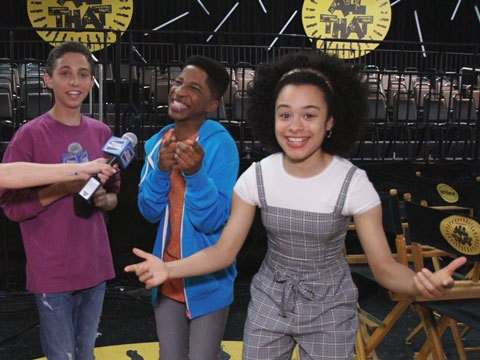 All That Reboot Cast Give Us a Behind The Scenes Set Tour