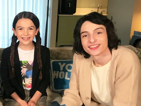 Finn Wolfhard & Brooklynn Prince Play Would You Rather: The Turning Edition