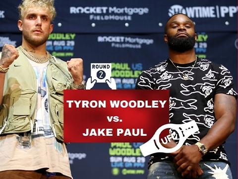 Tyron Woodley Prepares to Beat Jake Paul