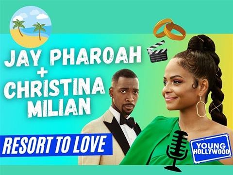 Phone Tour with Resort To Love's Christina Milian & Jay Pharoah