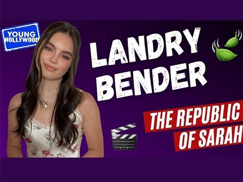 Landry Bender Takes TikTok Quiz & Talks The Republic of Sarah