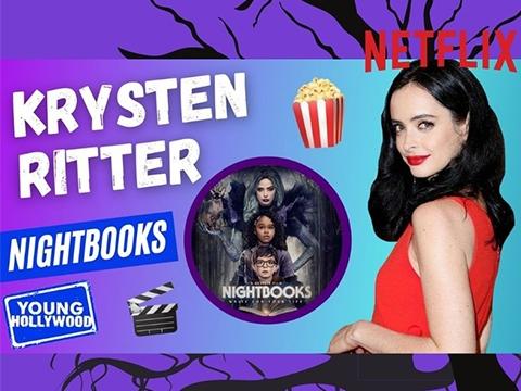 Nightbooks Star Krysten Ritter on Mother-Son Halloween Costume
