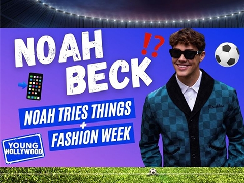 Noah Beck on Trying Things & Playing Soccer Against Messi